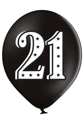 Latex Preprinted 21  Balloons | 12""