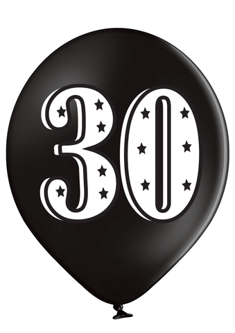 Latex Preprinted 30  Balloons | 12""