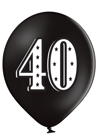 Latex Preprinted 40  Balloons | 12""