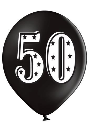 Latex Preprinted 50  Balloons | 12""