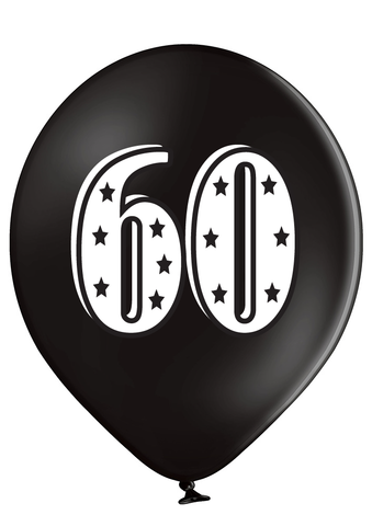 Latex Preprinted 60  Balloons | 12""