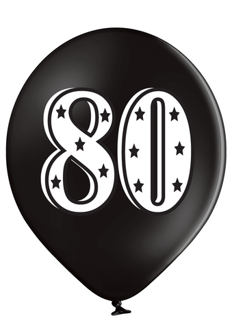 Latex Preprinted 80  Balloons | 12""