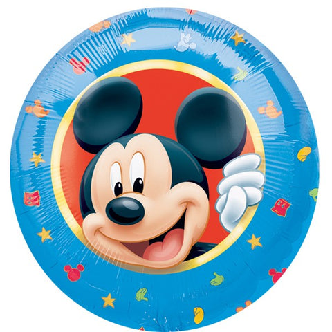 Click & Collect Foil Round Disney Mickey Mouse Clubhouse Balloon | 18""