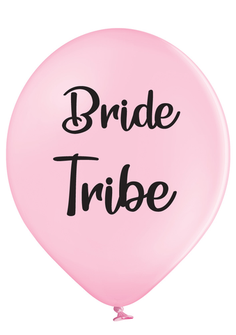 Latex Preprinted Bride Tribe Balloons | 12""