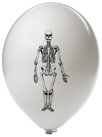Latex Preprinted Skeleton Balloons | 10""