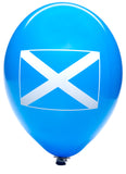 Latex Preprinted St Andrew's Day Flag Balloons | 10""
