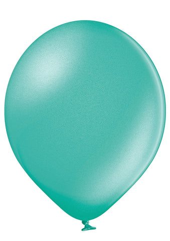 Latex Metallic Emerald Green Balloons | 12""