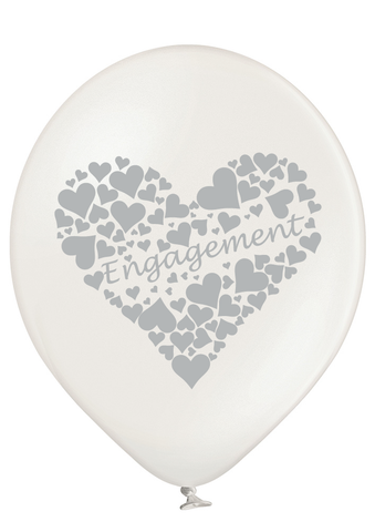 Latex Preprinted Engagement Balloons | 12""