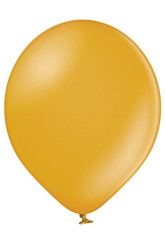 Latex Metallic Gold Balloons | 12""