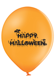 Latex Preprinted Happy Halloween Balloons | 10""