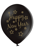 Latex Preprinted Happy New Year Balloons | 12""