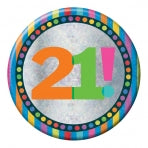 21st Birthday Badge | 15cm
