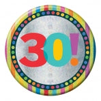 30th Birthday Badge | 15cm