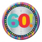 60th Birthday Badge | 15cm