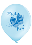 Latex Preprinted It's A Boy Balloons | 12""