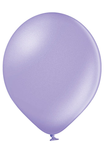 Latex Metallic Lavender Balloons | 12""