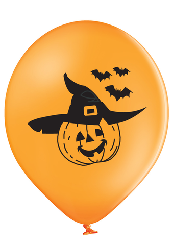 Latex Preprinted Pumpkin Balloons | 10""