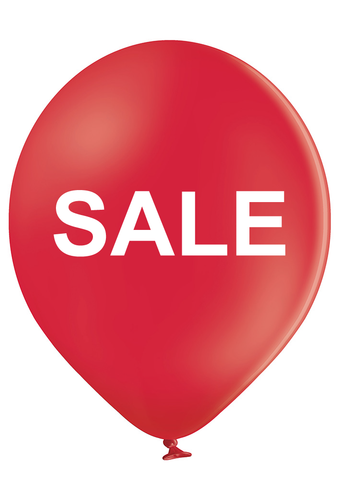 Latex Preprinted SALE Balloons | 12""