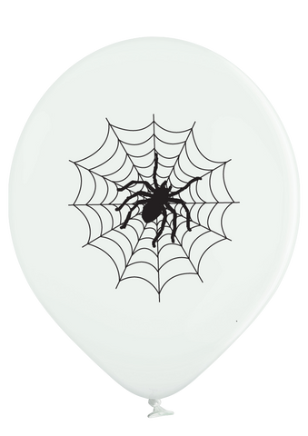 Latex Preprinted Spider Balloons | 10""