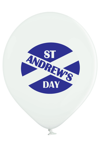 Latex Preprinted St Andrew's Day Balloons | 12""