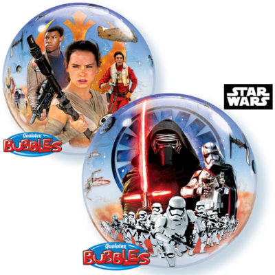 Foil Bubble Star Wars The Force Awakens Balloon | 22""