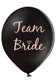Latex Preprinted Team Bribe Balloons | 12""
