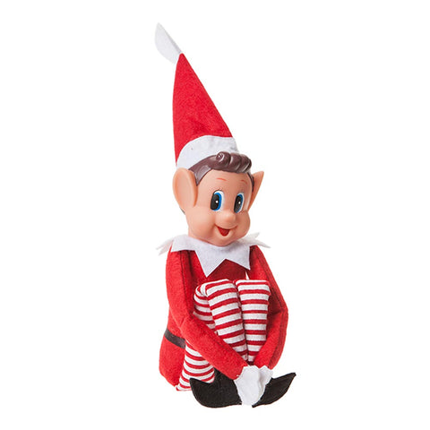 Vinyl Faced Naughty Elf