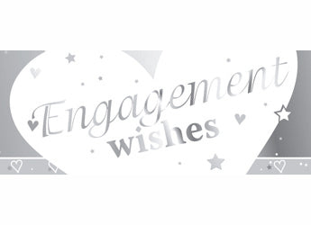 Engagement Foil Banner | 9ft