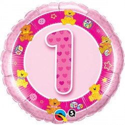Click & Collect Foil Round 5 & Under Birthday Balloon | 18""
