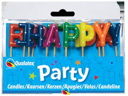 Happy Birthday Assorted Candles