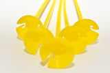 One-piece Balloon Sticks | Yellow