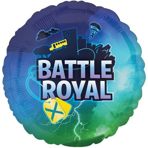 Foil Round Battle Royal Balloon | 18""