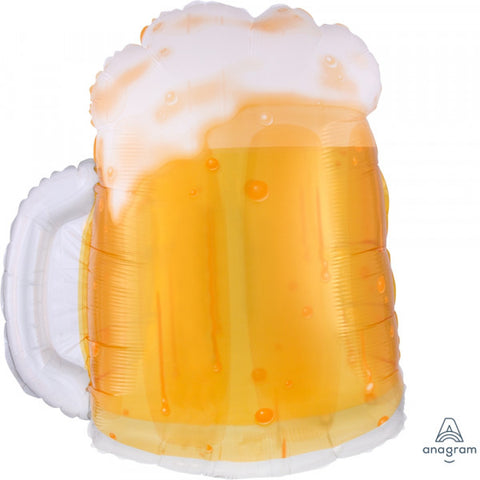 Foil Shape Beer Mug Balloon P35 | 23""