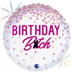 Birthday Bitch Foil Balloon - 18""