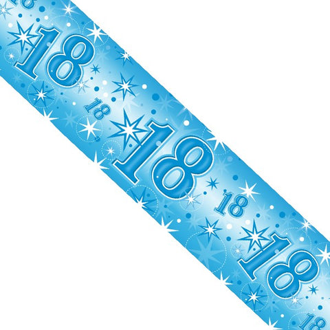 Blue Sparkle Birthday Banners | 2.6m