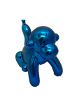 Large Blue Balloon Monkey Ornament