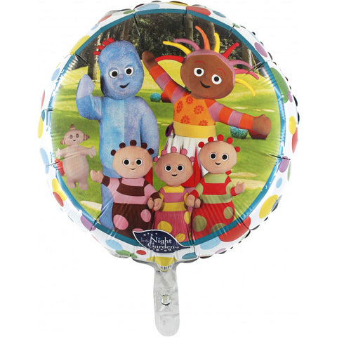 Foil Round In The Night Garden Balloon | 18""