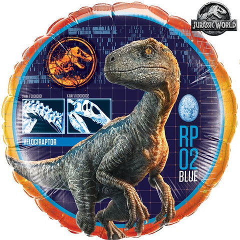 Foil Round Jurassic World Balloon | 18""