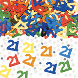 Assorted 'Numbers' - Birthday Confetti