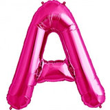 Foil Letters Metallic Pink Balloons | 34""