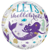 Mermaid Wishes Orbz Balloon | 16""