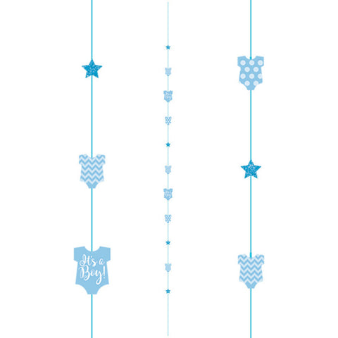 Baby Boy Blue Vest Fun String | 1.82m
