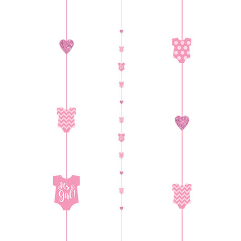 Baby Girl Pink Vest Fun String | 1.82m