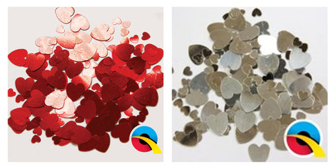 Party 'Colour' Hearts Confetti
