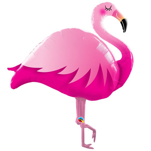 Foil Shape Flamingo Balloon C | 38""