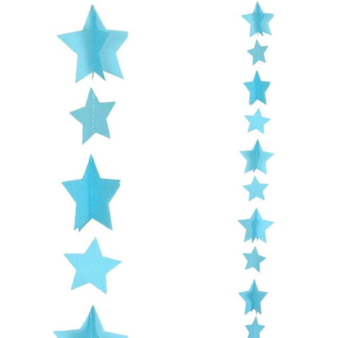 Blue Stars Balloon Tail | 1.2m