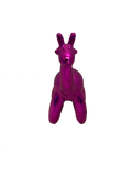 Medium Pink Balloon Giraffe Ornament