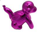 Large Pink Balloon Monkey Ornament