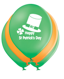 Latex Preprinted St Patrick's Day Balloons | 12""