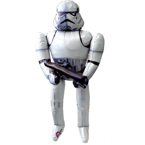 Foil Airwalker Star Wars Stormtrooper Balloon P93 | 70""